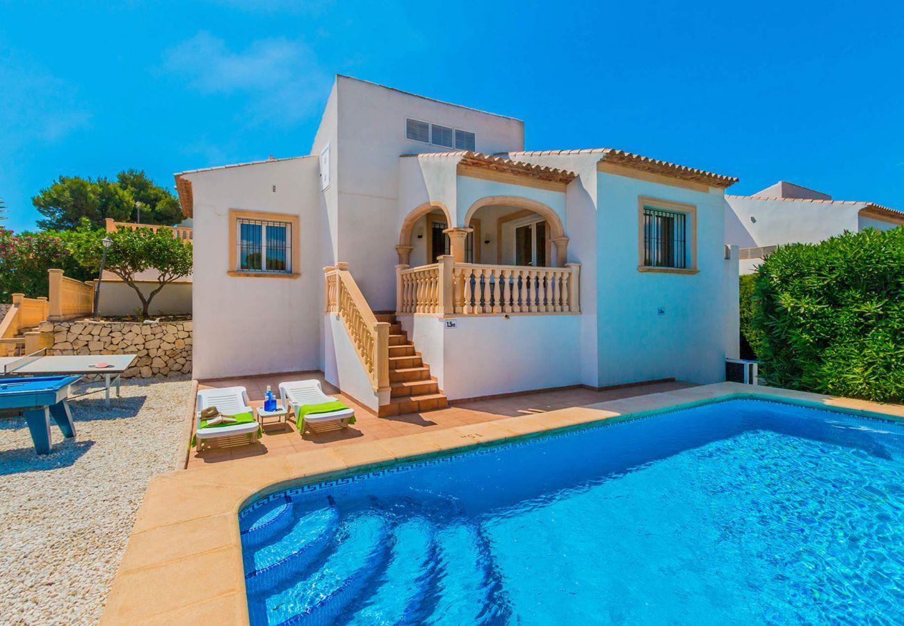 Villa in Javea - 0362 TOMILLO -Monte Javea-